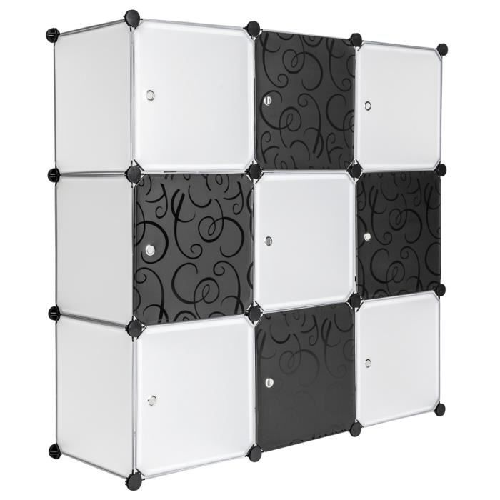 meuble de rangement en plastique achat vente meuble de. Black Bedroom Furniture Sets. Home Design Ideas