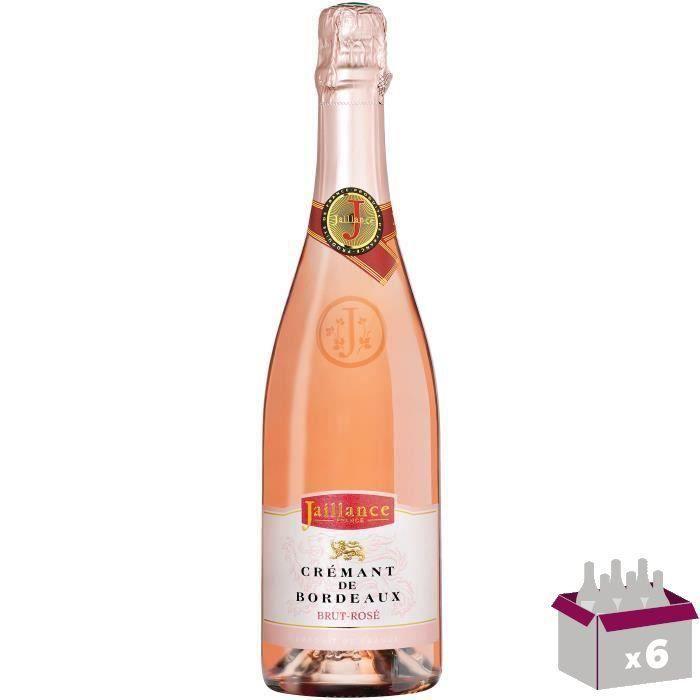 Jaillance Crémant de Bordeaux Rosé - 75 cl
