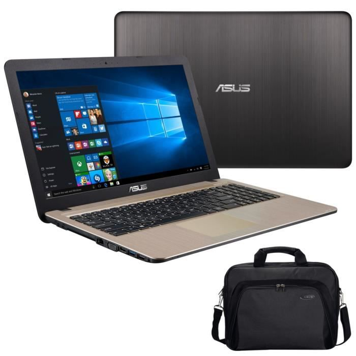 asus pc portable x540sc xx107t 15 6 4go de ram windows 10 intel pentium n3700 nvidia. Black Bedroom Furniture Sets. Home Design Ideas