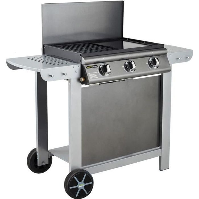 barbecue plancha gaz inox awesome barbecue cookuin garden mixte gaz puerta l with barbecue. Black Bedroom Furniture Sets. Home Design Ideas
