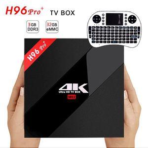 BOX MULTIMEDIA 3G+32G Amlogits S912 Hyash Pro + Otsta Tsure Andro