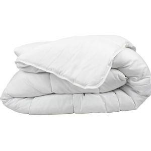 COUETTE Couette anti acariens blanche 220x240 cm 450gr/m2