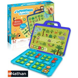 JEU D'APPRENTISSAGE jeu eveil NATHAN J'apprends à coder  431080