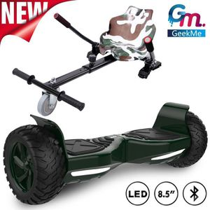 ACCESSOIRES GYROPODE - HOVERBOARD GeekMe Gyropode Hoverboard 8.5 Pouces Scooter Elec