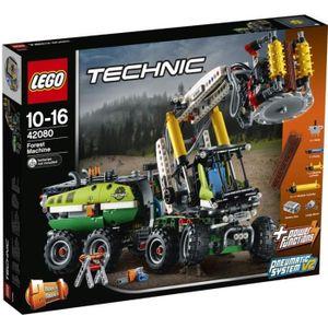 ASSEMBLAGE CONSTRUCTION LEGO® Technic 42080 Le camion forestier