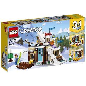 ASSEMBLAGE CONSTRUCTION LEGO® Creator 31080 Le chalet de montagne - Jeu de