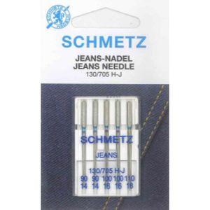 Schmetz Universel Domestique Machine À Coudre Aiguilles 130//705H-Q Quilting 75//11 UK