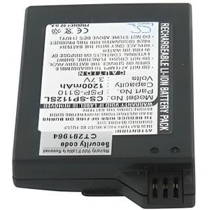BATTERIE DE CONSOLE Batterie type SONY PSP-S110