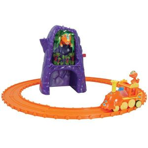 FIGURINE - PERSONNAGE TOMY LE DINO TRAIN - CIRCUIT D'INITIATION T-REX