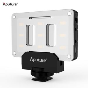 LAMPE ESCLAVE - FLASH Aputure AL-M9 Ultra-mince Mini LED Vidéo lampe Lum