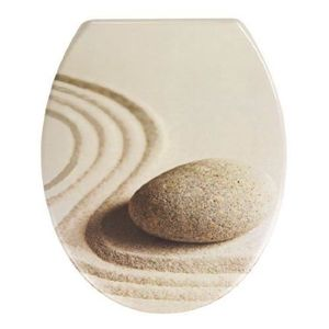 ABATTANT WC Wenko 20908100 Sand&Stone Easy-Close Abattant Duro