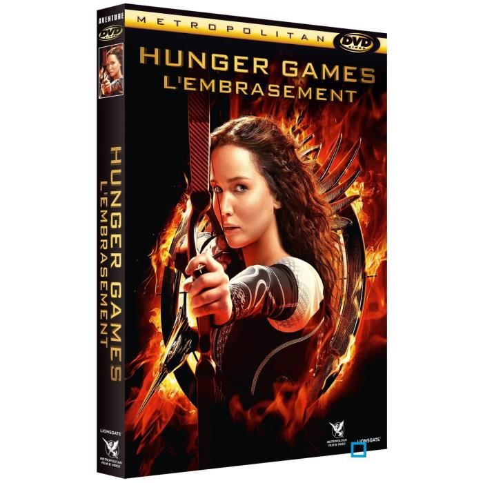 DVD FILM DVD Hunger games 2 : l'embrasement