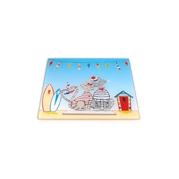 Dessous de plat Roxy - 20 x 20 cm - Verre