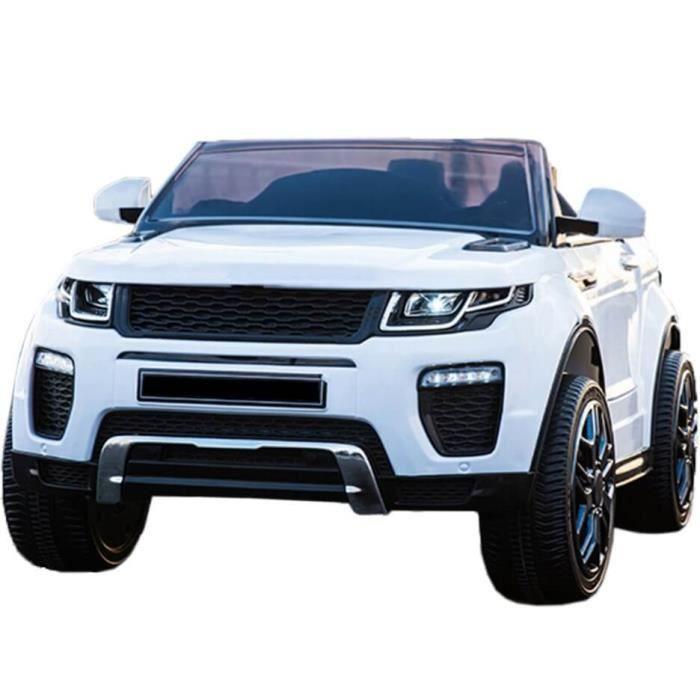 Range Rapid voiture électrique enfants télécommande 12v pas cher Blanc - Voiture électrique pour enfant avec batterie 12v