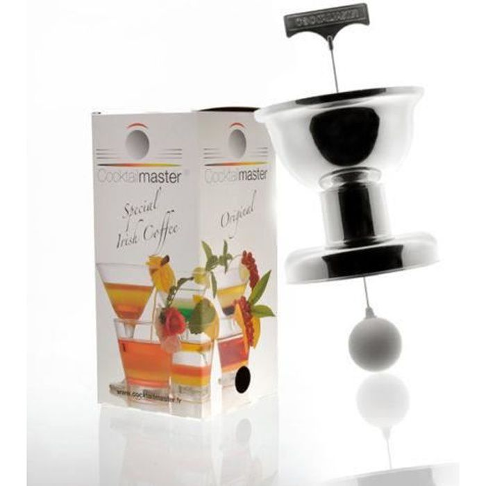 APPAREIL IRISH COFFEE COCKTAILMASTER METALLISE