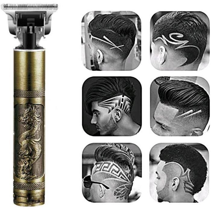 Électrique Pro Li Liner Toilettage Coupe sans fil T-Blade Trimme, Tondeuses à cheveux pour hommes Tondeuse à barbe sans fil Kit