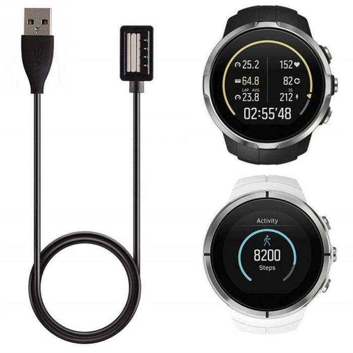 MONTRE OUTDOOR Chargeur de station de charge de câble USB amovible portable pour SUUNTO SPAR TAN - 9 bg1583 SDF1583