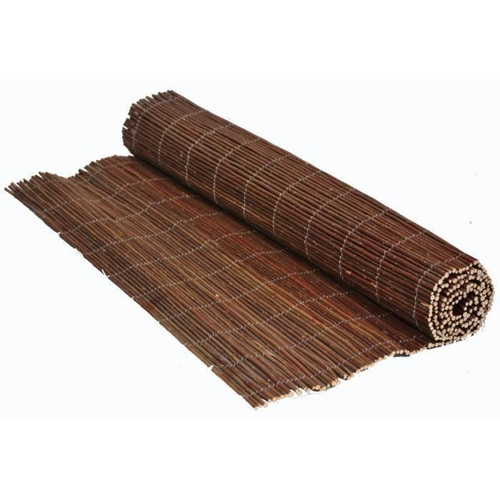 CLOTURE OSIER NATUREL 1,5M X 5M