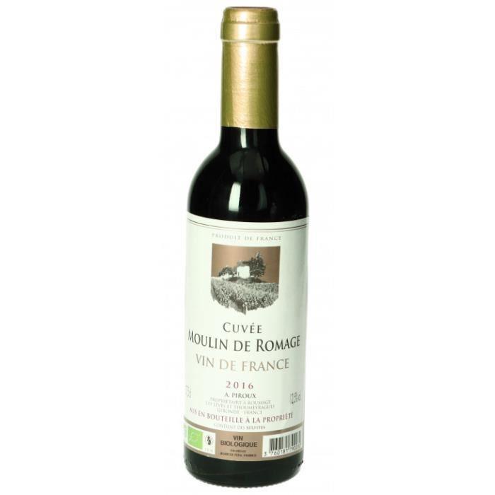 Moulin de Romage Vin de France rouge 37,5cl