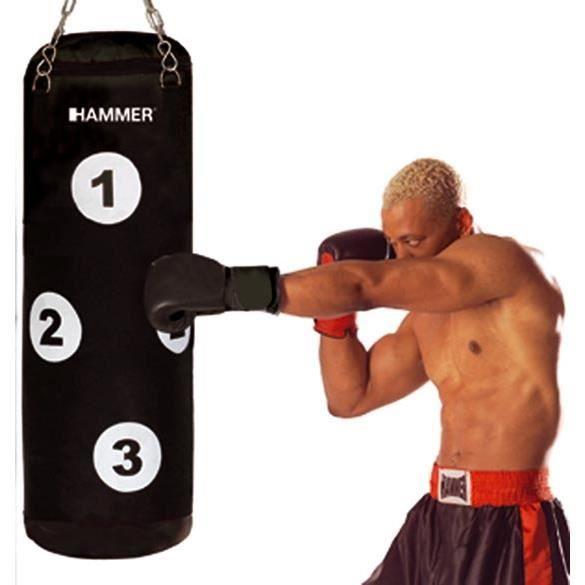 HAMMER Sac de Frappe Sparring - 28x80 cm