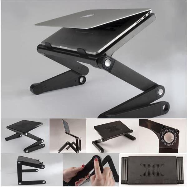 Tablette support pour odinateur multifonctions + D