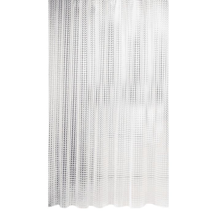 1pc rideau de douche Extra Long résistant à la moisissure imperméable 3D EVA de bain pour salle de d'hôtel SHOWER CURTAIN