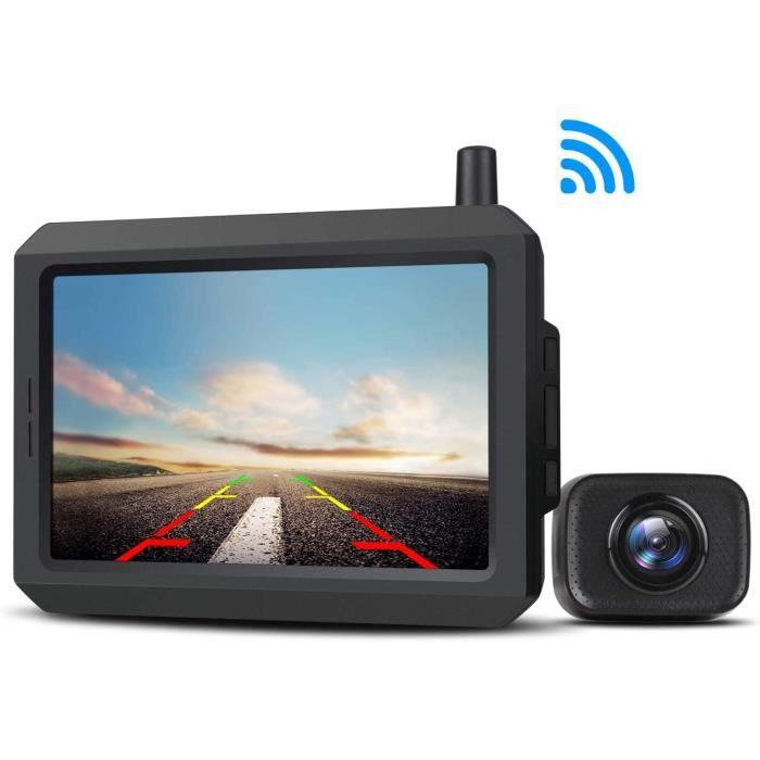 AUTO-VOX Caméra de recul numérique sans Fil Kit Caméra de recul Stable Signal Caméra de recul Étanche IP68 Caméra de recul a 2586