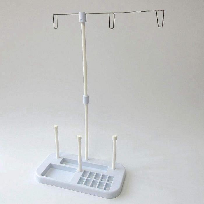MACHINE A COUDRE Support pour 3 bobines de fil agrave broder pour machine agrave coudre Brother Singer 1557