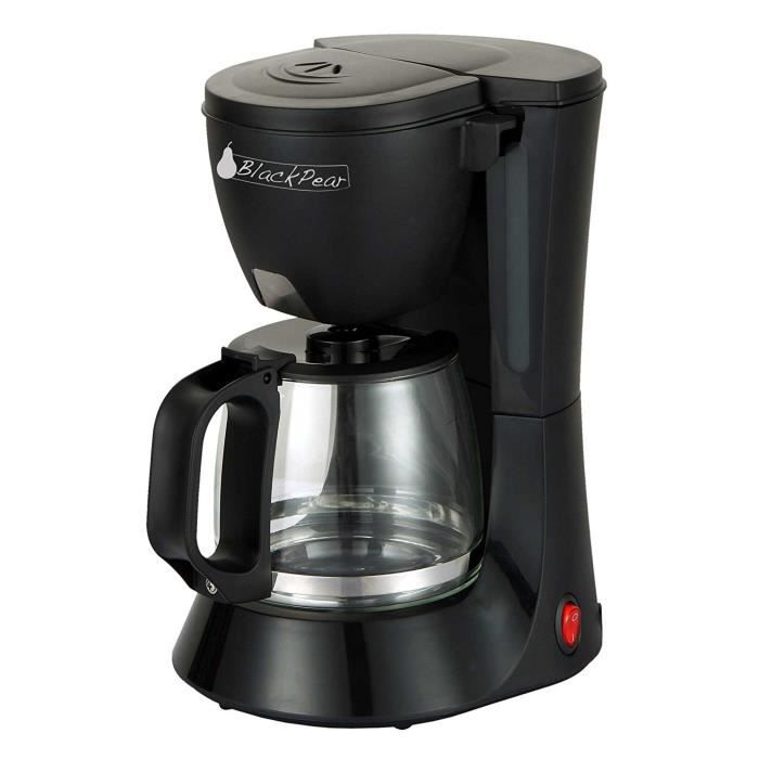 BLACK PEAR BCM 112 Cafetière 10/12 tasses 680W