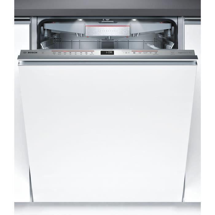 Lave-vaisselle tout intégrable BOSCH SMV68TX00E - 14 couverts - Largeur 60 cm - 39 dB