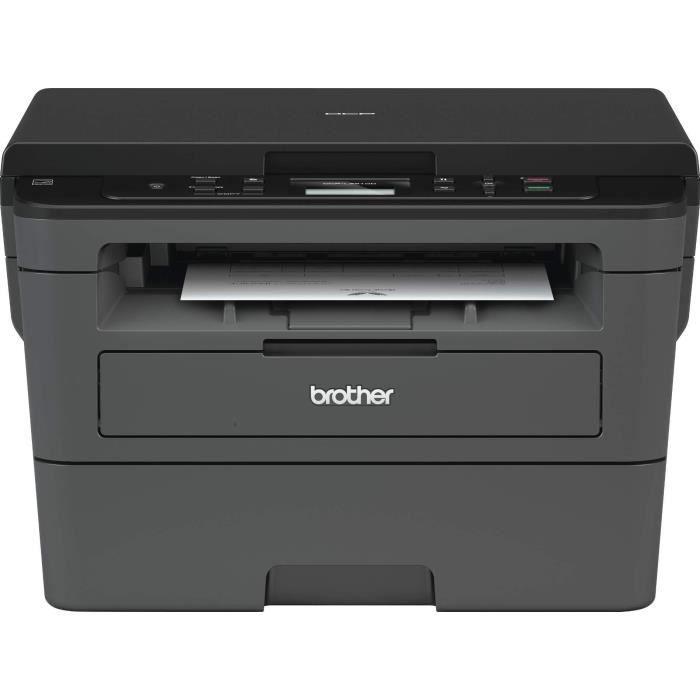 Brother Dcp L2510d Imprimante Multifonction 3 en 1 Laser Monochrome A4 Impression Recto verso, Numérisation, Copie