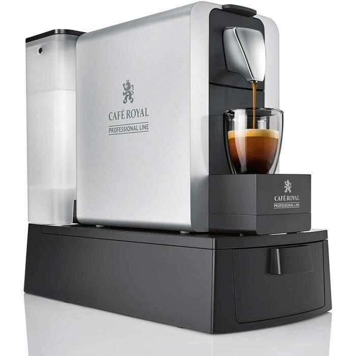 Machine à café Compact Pro 3L grise pour capsules Café Royal Pro (uniquement)
