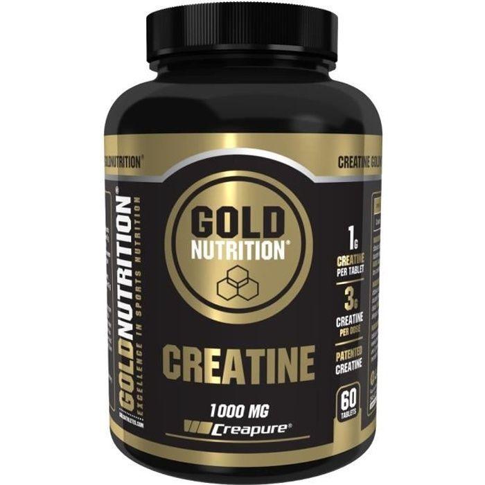 Creatine 1000mg de GoldNutrition Creatine de GoldNutrition est une formule sous forme de gélules, qui contient de la