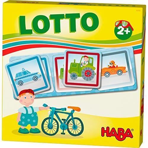 HABA Favorite Games - Lotto Véhicules - Jeux pour 2 Ans - 303765 303765