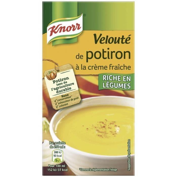Velouté de potiron 50 cl Knorr