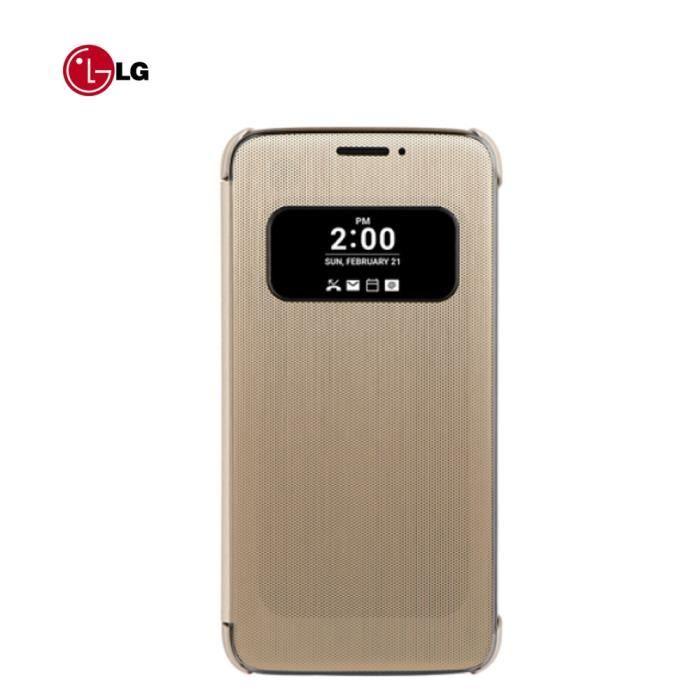 LG Etui folio CFV-160 LG pour G5 - Doré