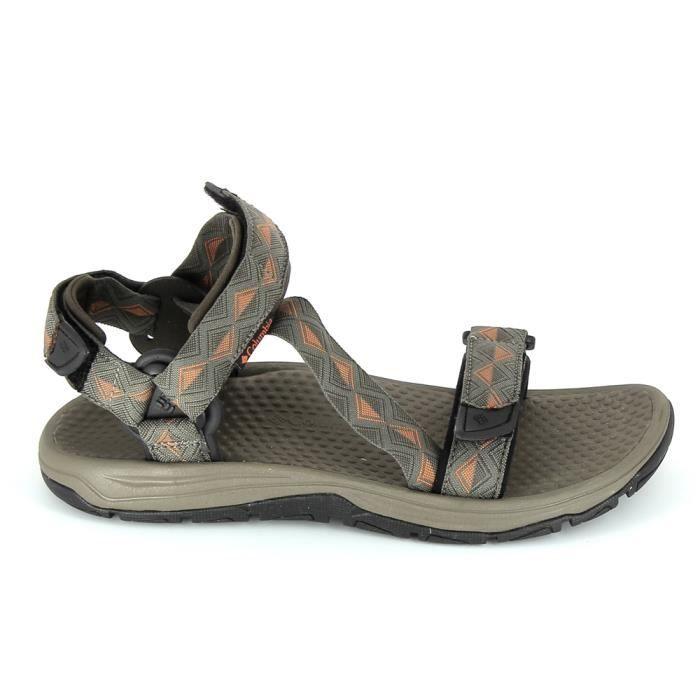 Nu pied et sandale COLUMBIA Big Water Marron
