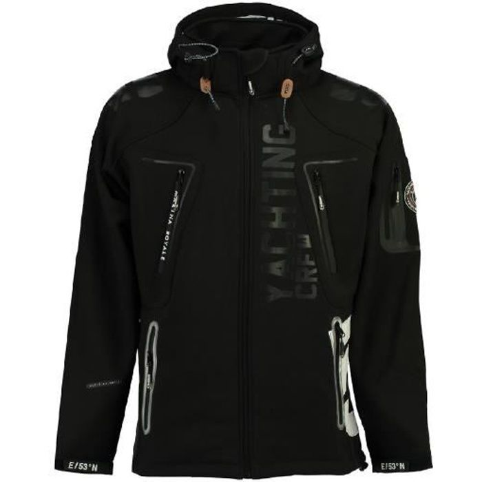 Softshell Homme Geographical Norway Toublerona Noir