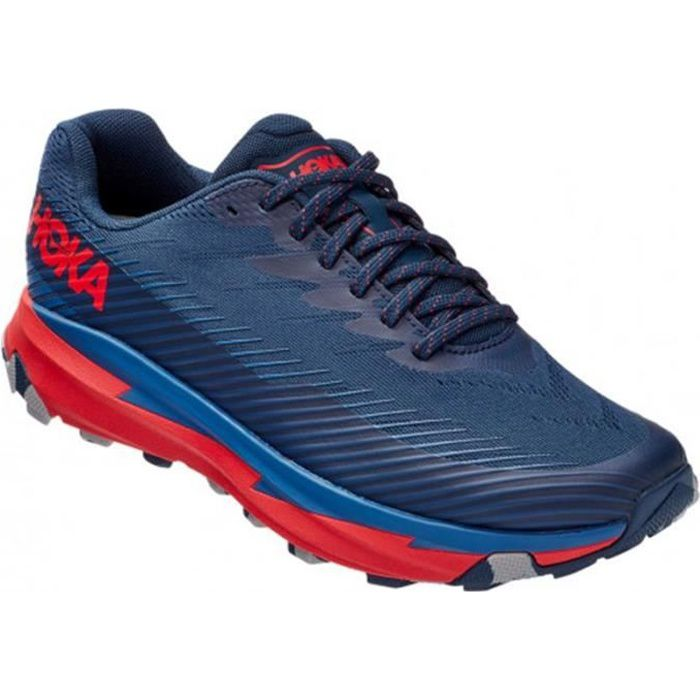 Basket Trail Hoka Torrent 2 Homme bleu