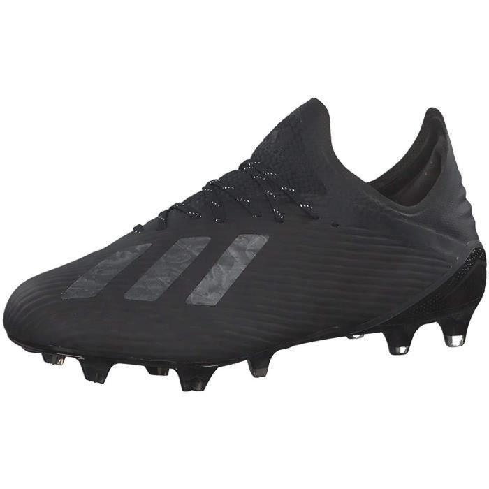 Adidas X 19.1 Ferme Ground, Chaussures De Football Homme, Cblack Silvmt, 40 Ue