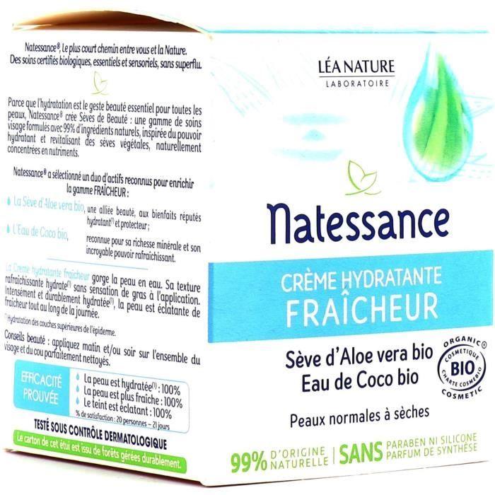 Crème hydratante* Fraîcheur