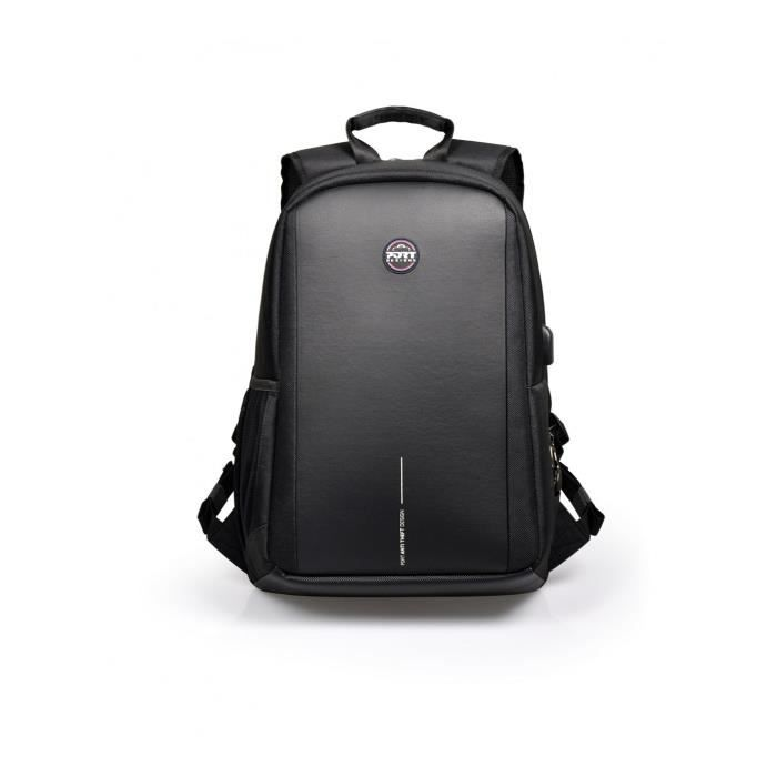 PORT Designs CHICAGO EVO BP 13-15.6'' Sac à dos - Sangle épaule - 790 g - Noir