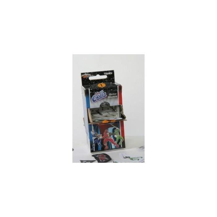Tomy 3808 Tomy Mini Cella - Power Rangers - Machine à autocollants