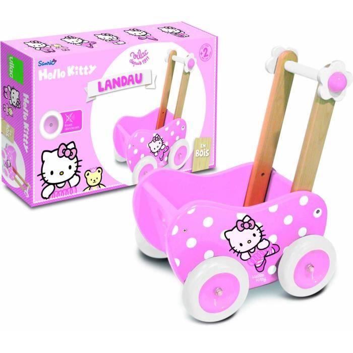 Landau En Bois Hello Kitty