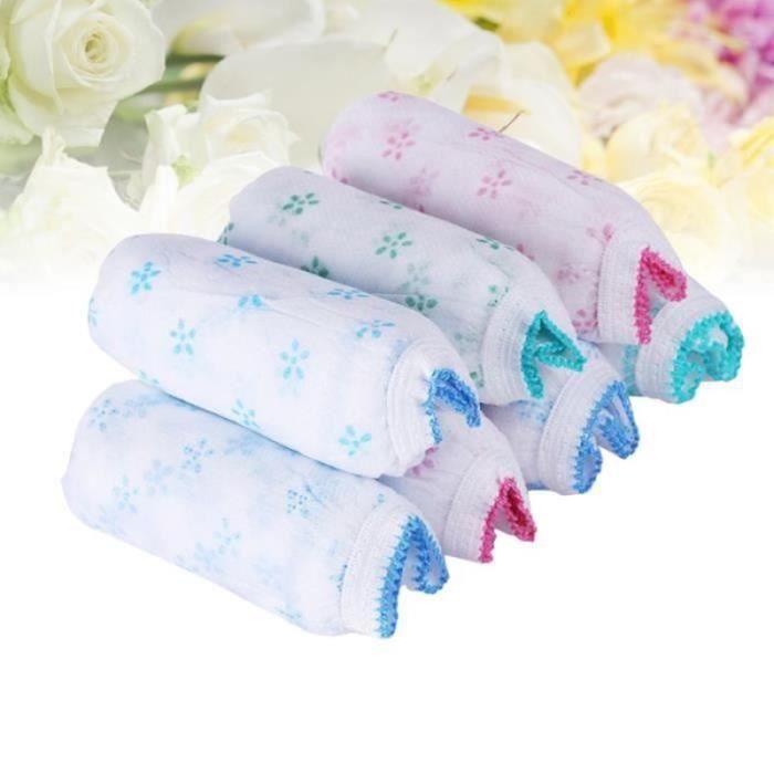 YF14055-8pcs sous-vêtements jetables post-partum culottes de maternité slips non tissés - taille (couleur - FILET