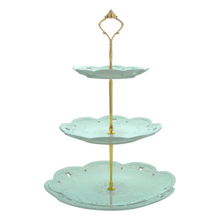 Grande Roue De Rotation Support Présentoir Pr Gâteau 8 Tasses En Inox