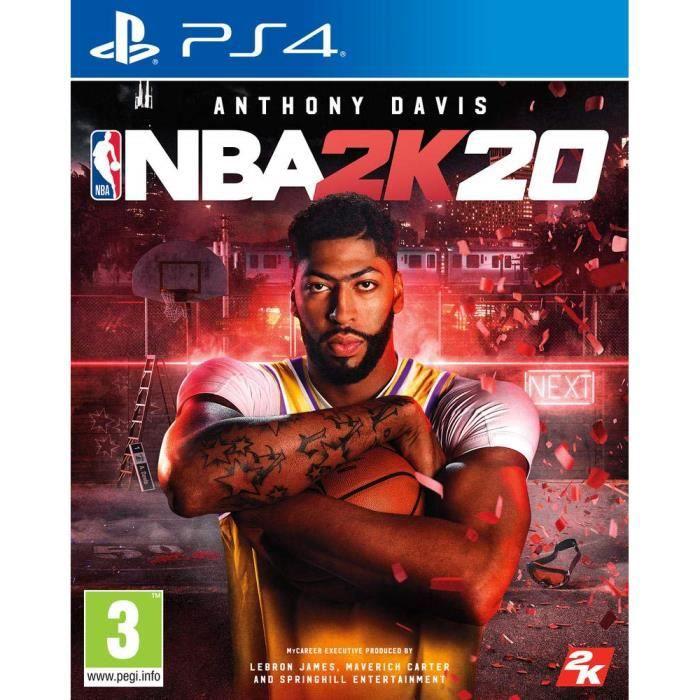 JEU PS4 NBA 2K20 PS4 + 14 Jours d essai PSN