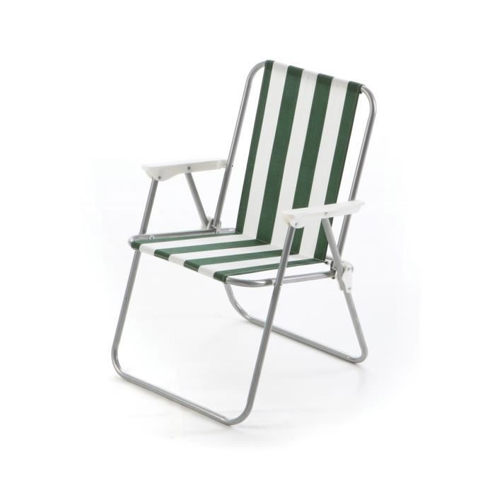Chaise relax venice achat vente fauteuil jardin chaise for Chaise relaxation jardin