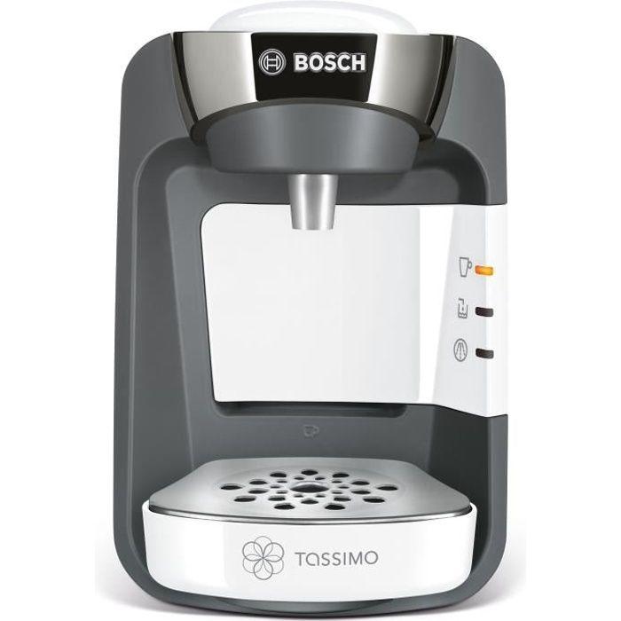 MACHINE À CAFÉ BOSCH TASSIMO Suny TAS3204 - Blanc