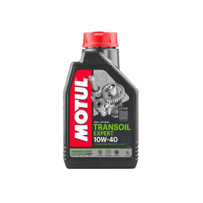 huile de transmission motul transoil expert 10w40 1 litre achat vente huile transmission. Black Bedroom Furniture Sets. Home Design Ideas